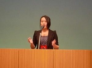 2011のスピーチの様子