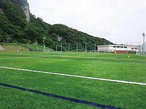 会場の勝山サッカーフィールド