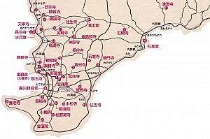 観音霊場MAP