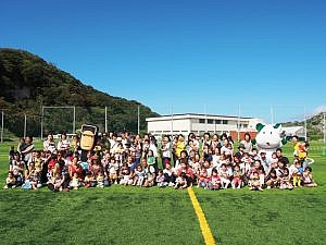 昨年初開催。たくさんの親子が参加。