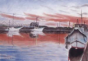 飯田真菜美パステル水彩画展 @ 白浜海洋美術館ギャラリー | 南房総市 | 千葉県 | 日本