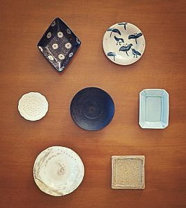 豆皿展 @ オルネカフェ | 南房総市 | 千葉県 | 日本