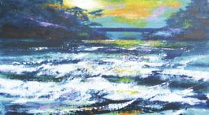 飯田眞澄絵画展 「房総の海と花」 @ 道の駅鴨川オーシャンパーク