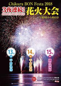 3日連続花火大会! ちくらBONフェスタ @ 千倉漁港、瀬戸浜海岸