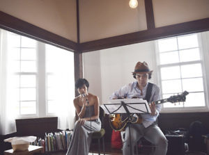 Organic September Special Jazz Live by Satsuki & Iwao Ochi @ TRAYCLE Market&Coffee